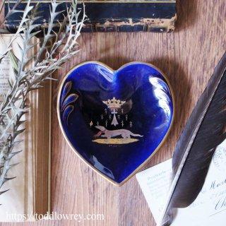 聖杯、情熱、そしてオコジョ / Antique Heart Shape Pin Dish