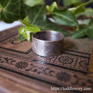 繁栄の唐草文様 / Vintage Sterling Silver Ring