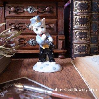 笛吹猫が鼠を集めて連れていく / Vintage Beswick RATCATCHER BILL