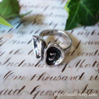 指に嵌める銀のアートピース / Vintage Sterling Silver Ring