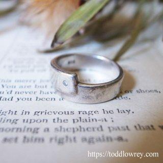 シンプルとデザインと/ Vintage Sterling Silver Ring