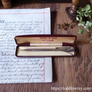 受け継がれるシルバーの手作りペンシル / Vintage Yard O Led Sterling Silver Propelling Pencil