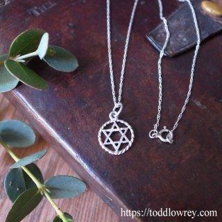 貴方を護る銀の六芒星 / Vintage Sterling Silver Hexagram Pendant