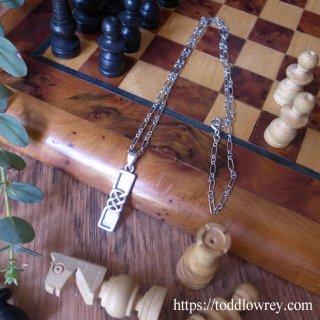 さりげなくケルトを纏う / Vintage Sterling Silver Necklace