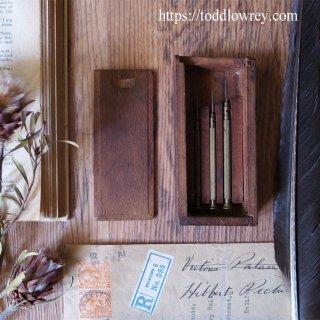 3本セットがいいんです / Vintage Precision Screwdriver set with Wooden Box