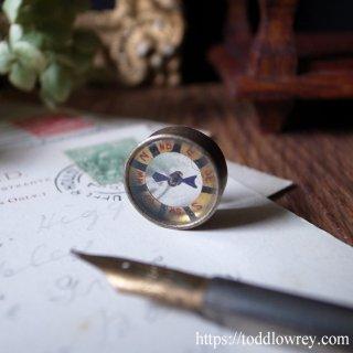 どんなに小さくても / Antique Victorian Miniature Reversible Compass