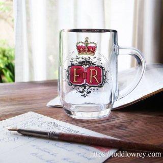 エリザベス女王に乾杯 / Vintage Queen Elizabeth � Silver Jubilee Tankard 1977