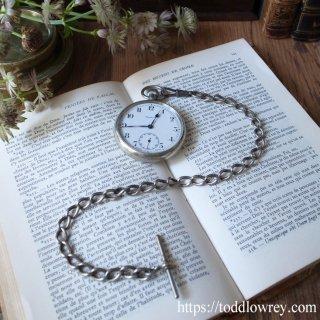 ヴィクトリア女王からの贈り物 / Antique Sterling Silver Albert Watch Chain