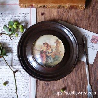 英国の夏を覗く船窓 / Vintage Porthole Style Art Frame
