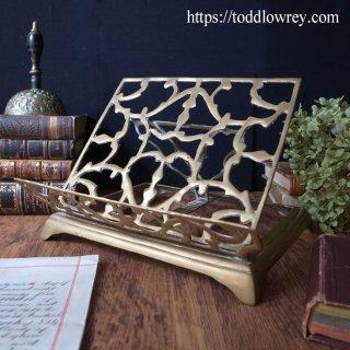 古美た書見台 /Antique Brass Book Stand
