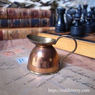 小さな小さなジャグはいかが / Antique Copper& Brass Miniature Jug