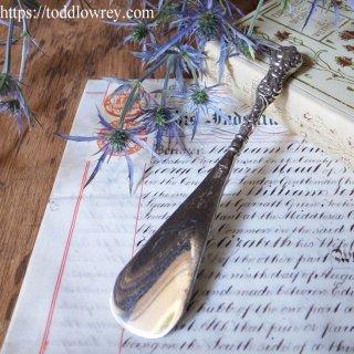 ロココの装飾をもつ銀のシューホーン / Antique Silver Handle Shoe Horn Birmingham 1906