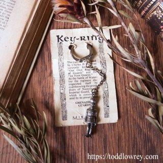グレナディアガーズ、ミラクル、ロビンとキャスリーン/ Vintage Key Ring of GRENADIER GUARDS by Miracle