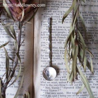 ジョージ五世で掬うもの / Antique Silver Spoon with Threepenny Coin 1913