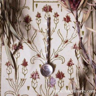 3ペンス銀貨で仕立てたシルバースプーン / Antique Silver Spoon with Threepenny Coin 1913