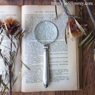 2世紀の時を超えて / Antique Sterling Silver Handle Magnifying Glass 1910