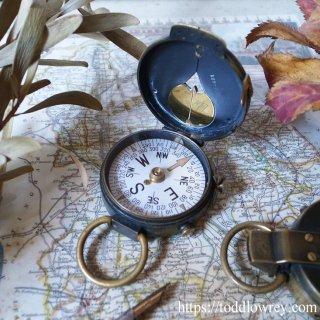 アメリカ陸軍工兵隊へスイスから贈られた高性能デバイス / Antique Cruchon & Emons Mirror Sighting Compass