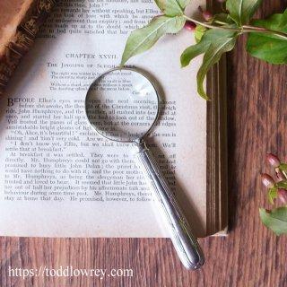 束ねられた葦が意味するもの / Antique Sterling Silver Handle Magnifying Glass 1919