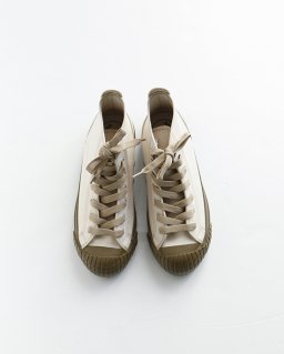 Nigel Cabourn ARMY TRAINERS(High Top)  ECRU