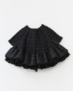 tricot COMME des GARÇONS カットレースボンディング・ハンド刺繍ジャケット BLACK×WHITE