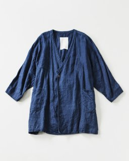 the last flower of the afternoon 群青のlong jacket