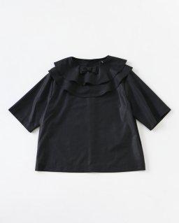 tricot COMME des GARÇONS ラウンドカラーブラウス BLACK
