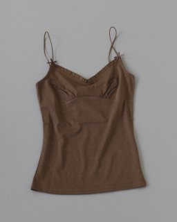 Bilitis Camisole DARK BROWN