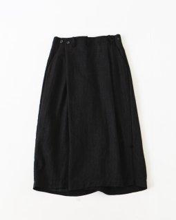 suzuki takayuki wide legged pants � BLACK