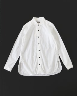 GARMENT REPRODUCTION OF WORKERS ラウンドカラーシャツ WHITE