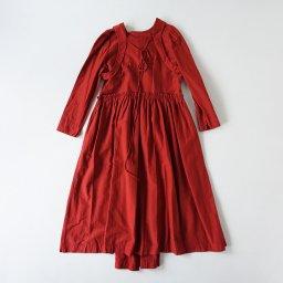 GASA* ーガーベラの赤ー ドレス(19AW)