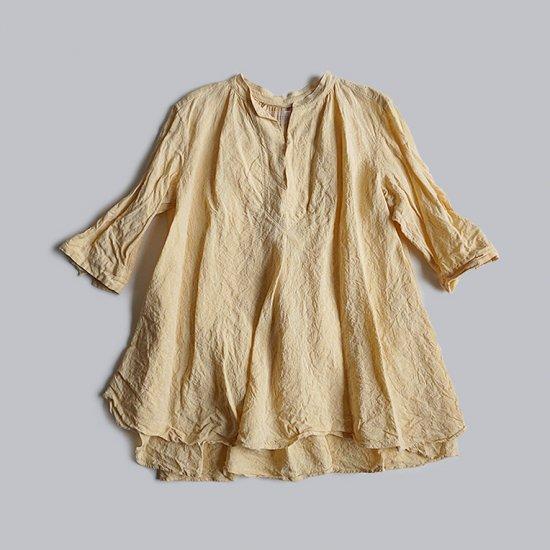 HALLELUJAH  羊飼い少年のシャツ Saffron(2020SS)