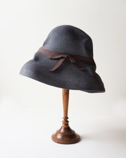 mature ha. BOXED HAT 11cm brim grosgrain ribbon (2020SS)