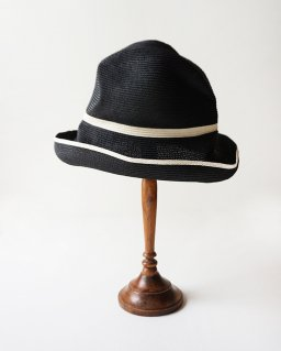 mature ha. BOXED HAT 11cm brim switch colour line (2020SS)