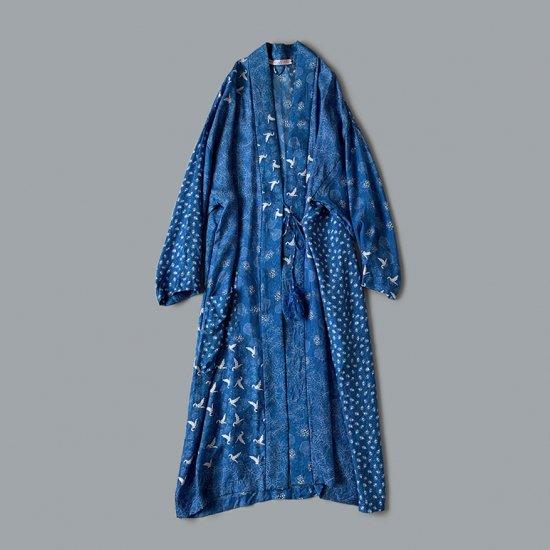 TOWAVASE Sarasa robe blue (2020SS)