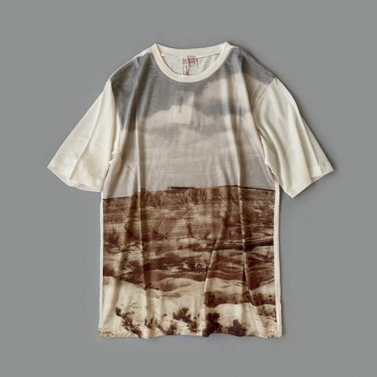 Babaco  PRINTED WOOL T-SHIRT 2020AW