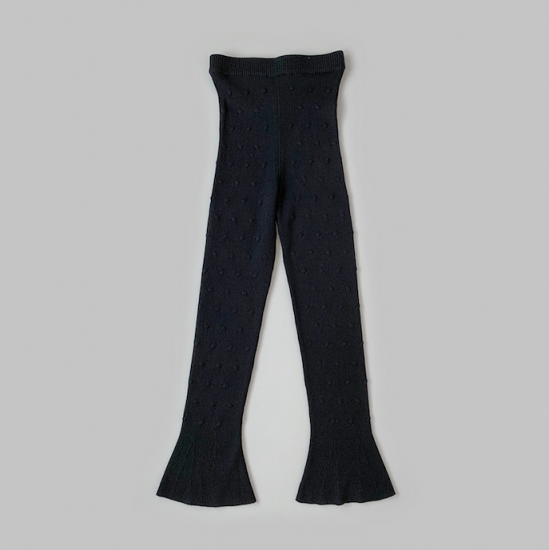 Babaco  CABLE EYELET PANTS 2020AW