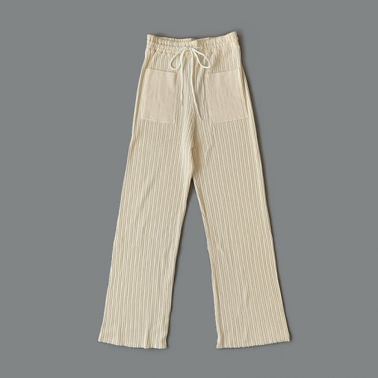 Babaco  COTTON RIBBED PANTS 2020AW