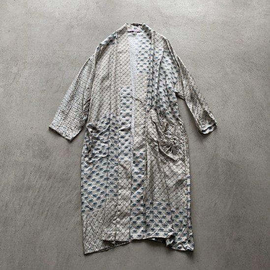 TOWAVASE Sarasa robe ivory(2021SS)