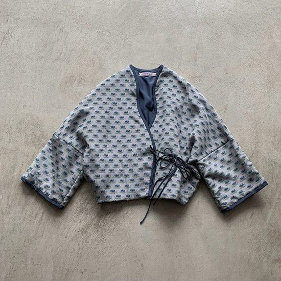 TOWAVASE Sarasa jacket blue(2021SS)