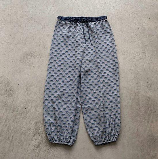 TOWAVASE Sarasa pants blue(2021SS)
