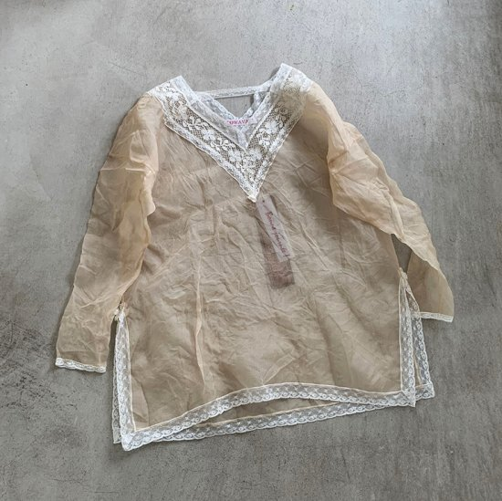 TOWAVASE  Jon Leavers blouse(2021SS)
