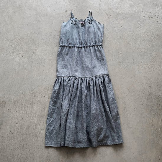 TOWAVASE  Bonvoyage dress blue(2021SS)