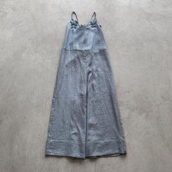 TOWAVASE Bonvoyage salopette blue(2021SS)