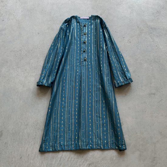 TOWAVASE Haku dress blue(2021SS)