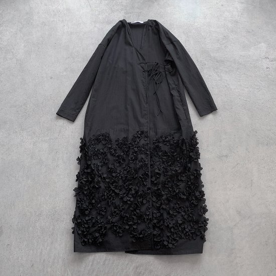 TOWAVASE  Anne dress black(2021SS)