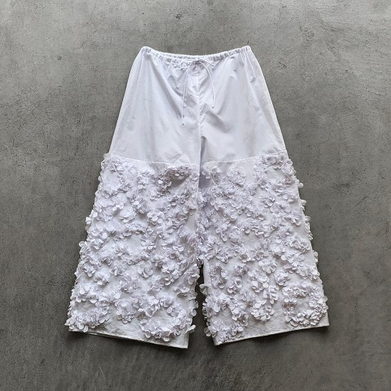 TOWAVASE  Anne pants white(2021SS)