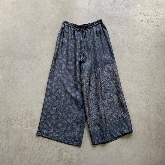 TOWAVASE  Sarasa pants black(2021AW)