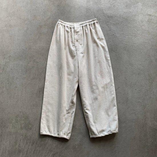 TOWAVASE  Anne pants white(2021AW)