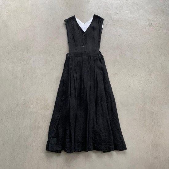 HALLELUJAH  ガチョウ番の少女ローブ Black (2021AW)