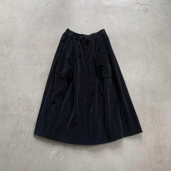 HALLELUJAH  ポケットスカート Black (2021AW)